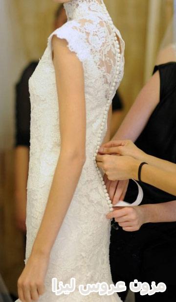 لباس عروس داتل